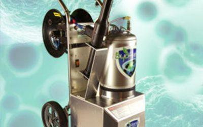 Eficacia microbiológica en bio descontaminación de superficies con virkon® por inducción electrostática