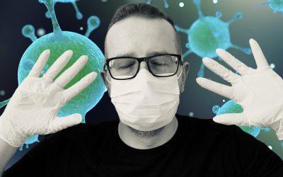 Uso de guantes y mascarillas: medidas de prevención contra el coronavirus Covid-19