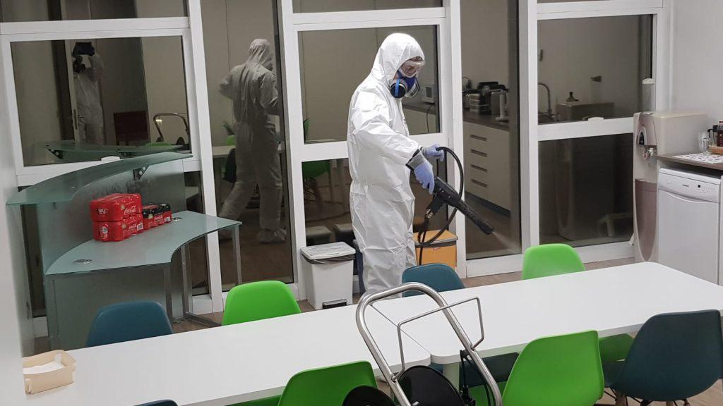 descontamiacion microbiolgocia