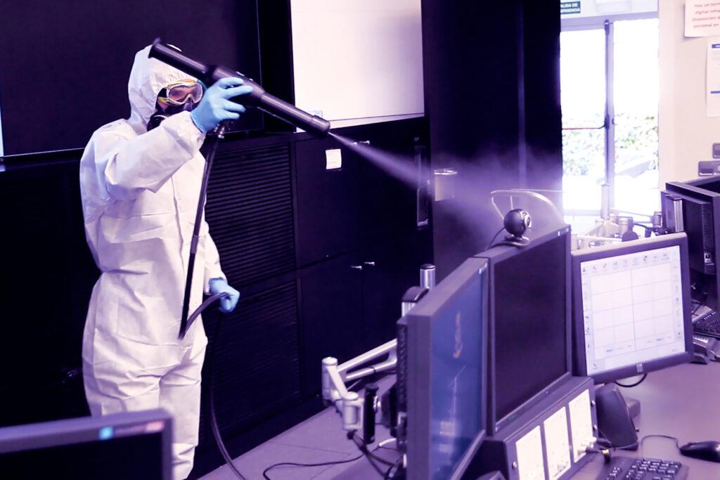 MicroClean-Solutions desinfección micropulverización electrostática