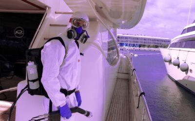 Microclean, empresa experta en desinfección de barcos, presente en el Valencia Boat Show