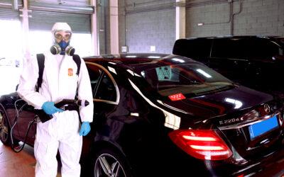 Protocolo de desinfecciónde vehículos frente a la Covid-19