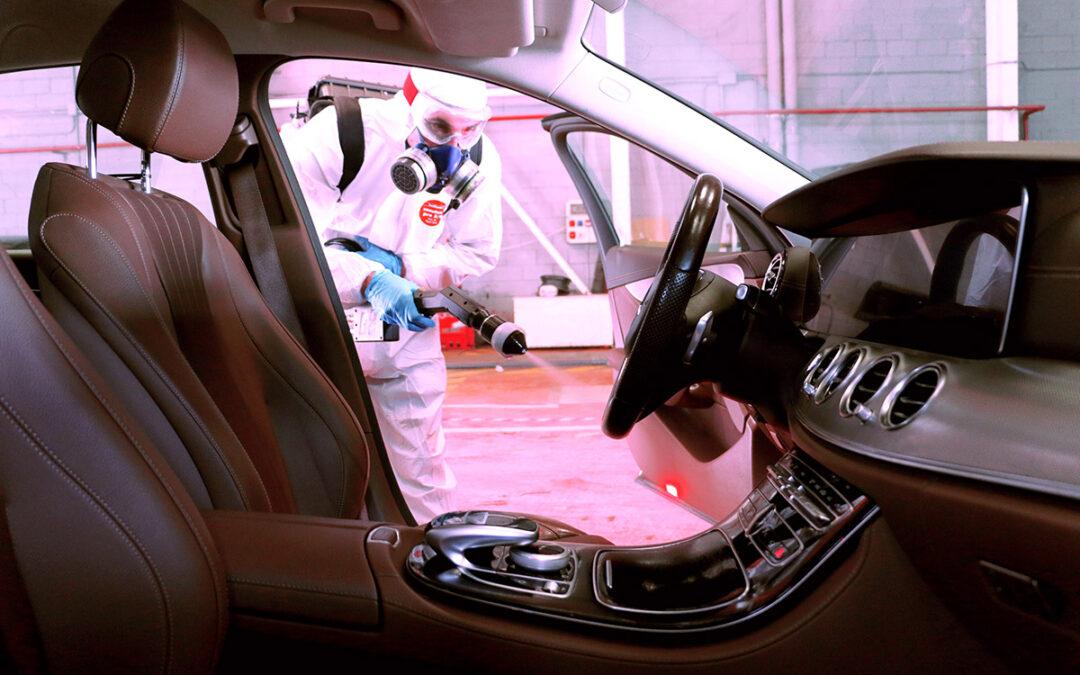 Puntos conflictivos para eliminar el coronavirus en vehículos