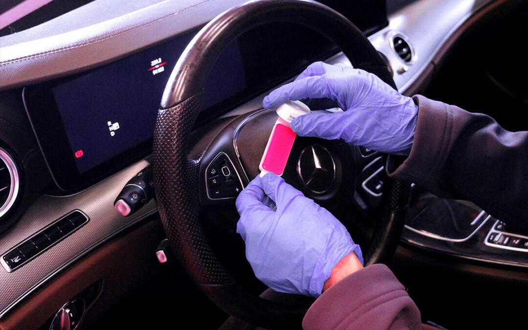 Desinfección de vehículos por Covid. Cómo trabajamos en Microclean.