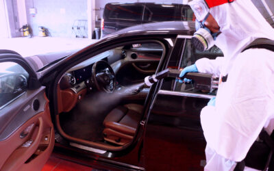 Cómo desinfectar el coche por dentro frente al coronavirus en cinco minutos