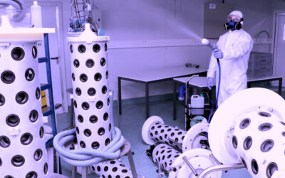Desinfección y asepsia en laboratorios y centros de investigación
