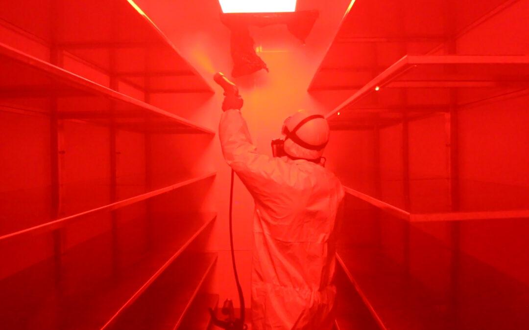 Pintura fotocatalítica y descontaminación microbiológica natural